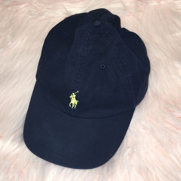 POLO Ralph Lauren Blue Hat Leather Back Strap. M 5a8359ef84b5ced8a9c8fb83 f4abf420a12